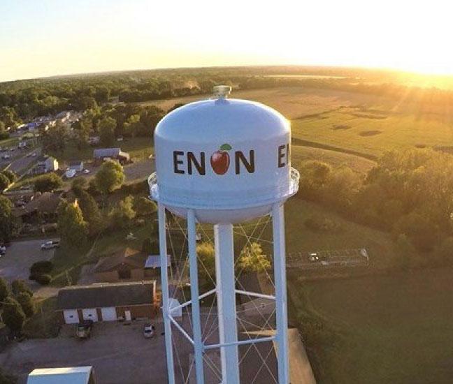Enon-Ohio-HVAC-Service-Area-Location